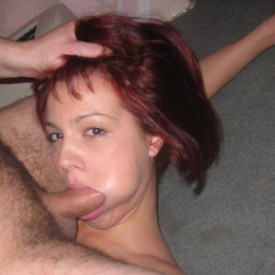 Redhead ex-girlfriend does it all 04