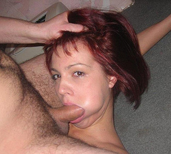 Redhead ex girlfriend does it all