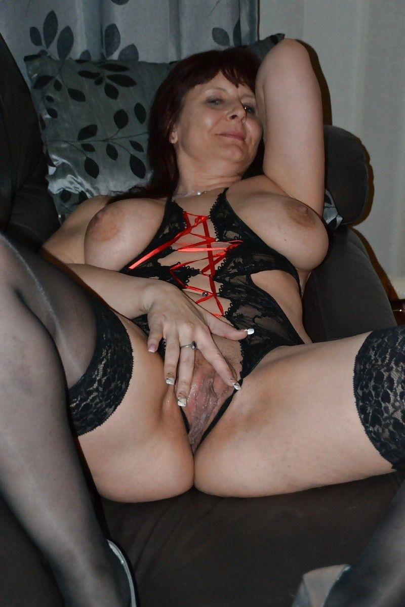 German Mature Tits